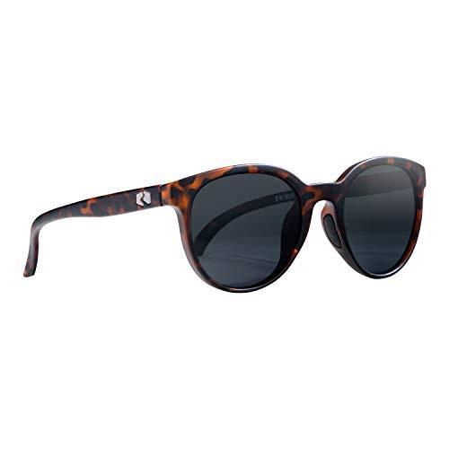 Rheos Wyecreeks Round Floating Polarized Sunglasses | 100% UV Protection | Floatable Shades | Ideal for Fishing and Boating | Anti-Glare | Unisex | Tortoise | Gunmetal