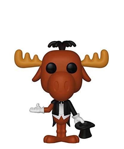 Funko Pop! Animation – Rocky & Bullwinkle – Bullwinkle (Magician) #447 Vinyl Figure 10 cm...