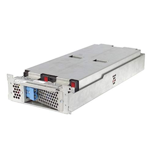 APC UPS Battery Replacement, RBC43, for APC Smart-UPS Models SMT2200RM2U, SMT2200RM2UC, SMT2200RM2UNC, SMT3000RM2U, SMT3000RM2UC, SUA2200RM2U, SUA3000RM2U, SUM1500RMXL2U, SUM3000RMXL2U and select others