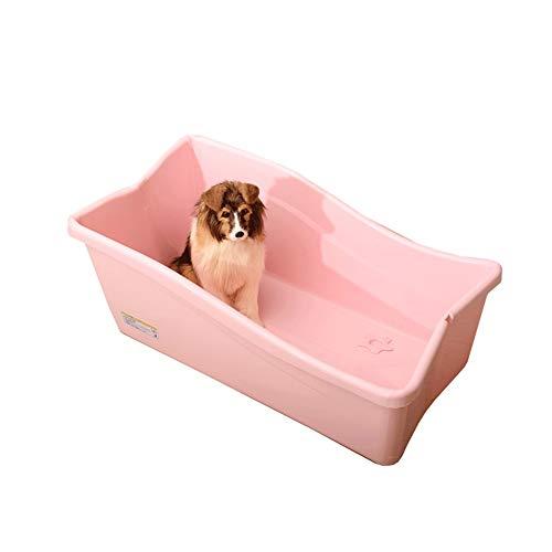 Ryan Hond Bad Tub, Opvouwbare Kunststof Huisdier Badkuip Hond Speciale Douchecabine Zwembad Kat En Hond Universeel Voor Teddy Golden Retriever Badkuip, roze