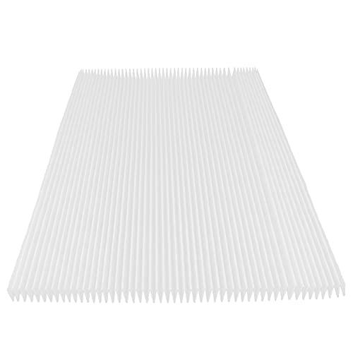 QITERSTAR Materiale filtrante per purificatore d'Aria, Pratico, Robusto, Leggero, Delicato, Carta da Filtro squisita per la casa per purificatore d'Aria Universale