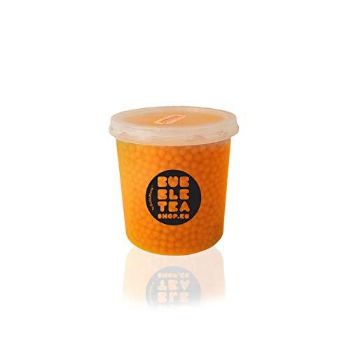 Popping boba Fruchtperlen für Bubble Tea Pfirsiche (500 g)