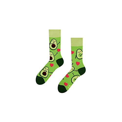 Dedoles Good Mood Avocado Love Unisex Adult Food Socks 39-42