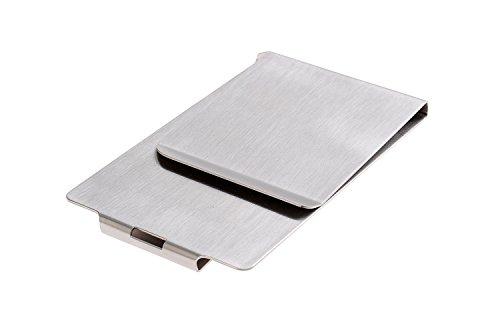 Monumentum Molletta per soldi/Molletta per contanti/Porta carte di credito/Moneyclip, in acciaio inox di alta qualità, 429 (DE)