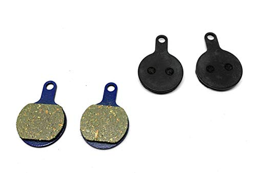 Hardheaded Ram 2 Bike Brake Pads Organic for Tektro IOX, BP69A0D171, BP69A, Novela, MTB,XC, DH. The Bicycle Replacement Part for OEM Brakes for high Braking Power and Quiet Stops.