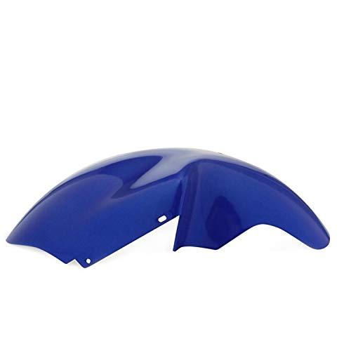 Spatbord voor, aanpasbaar. Peugeot Trekker PEUGEOT METALL blauw