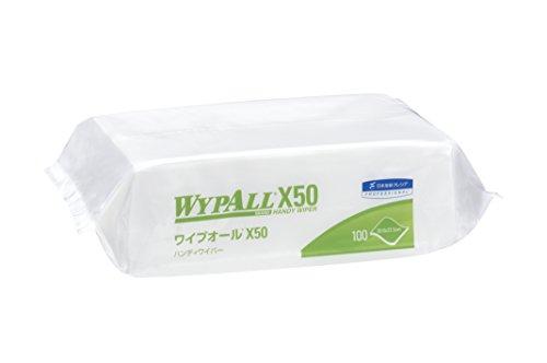 日本製紙クレシア ワイプオールX50ハンディワイパー 不織布ウエス 1箱 16パック