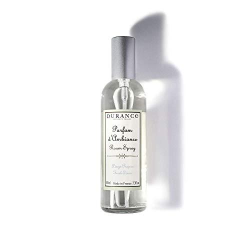 Durance Fresh Linen - Spray para habitación (100 ml, aroma para cualquier...