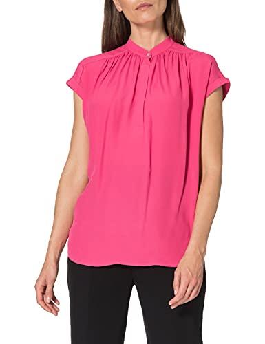 Seidensticker Damen Fashion Arm Bluse, Pink (43), 42