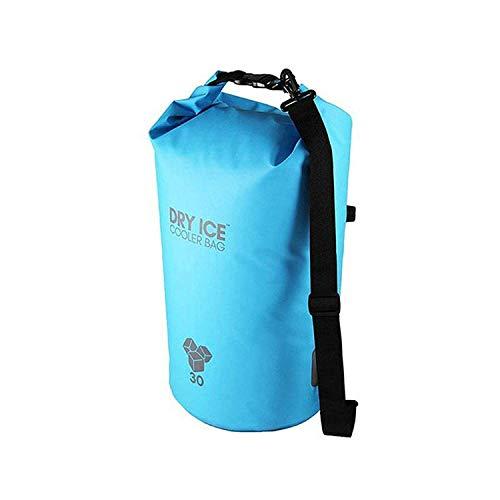 Dry Ice Cooler Bag Kühltasche 30 Liter Türkis wasserdicht