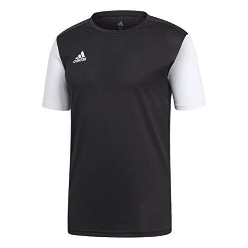 adidas ESTRO 19 JSY T-Shirt, Hombre, Black, L