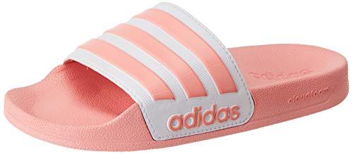 adidas CORE Women Adilette Aqua Badeschuh, Dust Pink Footwear White Dust Pink, Gr.- 37 EU