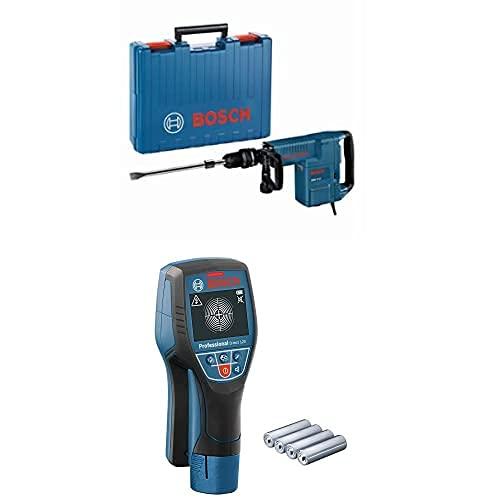 Bosch Professional Martillo demoledor GSH 11 E + Bosch Professional Detector de pared D-tect 120