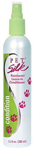 Pet Silk Conditioner for Pets, Leave in, Perfect for dry skin, Rainforest Scent, 11.6 Ounces