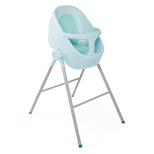 Chicco Bubble Nest - Bañera transformable con patas extraibles y asiento antideslizante, color azul (Dusty Green)