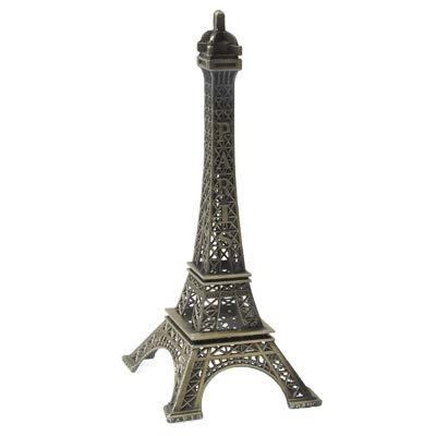 Nobrand SNUIX Tour Eiffel Modèle Ameublement Articles Modèle Photographie Props Creative ménages Cadeau, Taille: 10 x 4.3cm