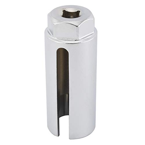 KUNTEC Oxygen Sensor Socket 3/8 inches Drive by 7/8 inches (22mm) Offset Oxygen Sensor Socket