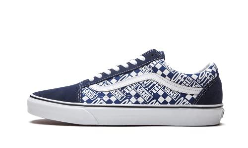 Vans Schuhe Old Skool Off The Wall Code VN0A3WKT4QA, Blau - Blau Weiß - Größe: 39 EU
