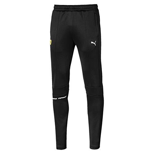 PUMA - Pantaloni da Uomo Formula 1 Scuderia Ferrari, Puma Black, XL
