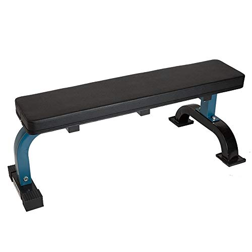 ZAIHW Panca Multifunzione, Übung Flach Ausrüstung Flachbank Workout Bench -Perfect for Pressing Übungen - Hantelbank for Kurzhantel & Barbell Press Workouts