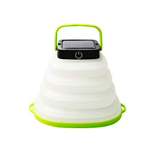 JLXW waterdicht led-nachtlampje voor buiten, opladen op zonne-energie, opvouwbaar, draagbare verlichting, bedlampje voor woonkamer, slaapkamer, reizen, wandelen