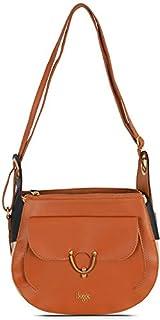 Baggit Women's Synthetic Handbag (Brown)