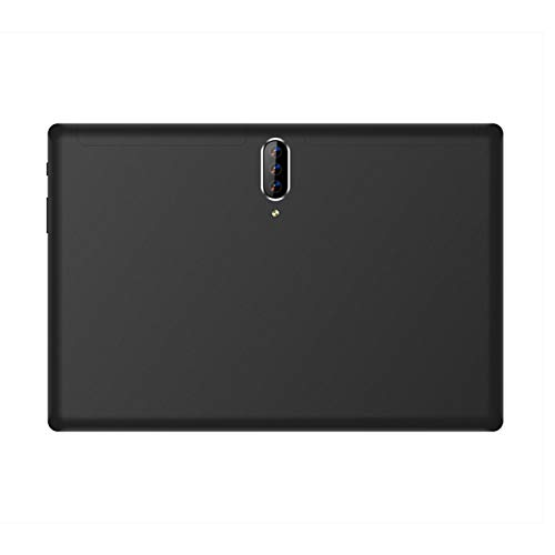 Haude Tableta de 10,1 Pulgadas 2 + 32G MTK6592 3G 1280X800 IPS Android 5.1 4.0 4000MAh 2MP Tableta con CáMara (Negro, Enchufe de la UE)