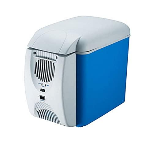 BAOZUPO Refrigerador para Coche, hogar, Doble Uso, 7,5 litros, portátil, Coche, Caja pequeña de calefacción y refrigeración, refrigeración, frigorífico pequeño