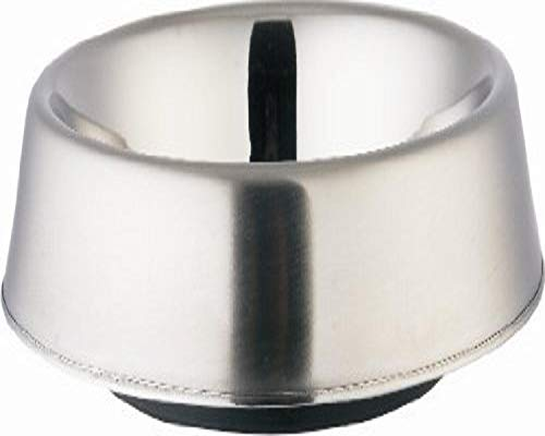 Indipets Stainless Steel Anti Ant No skid Dish, 24-Ounce