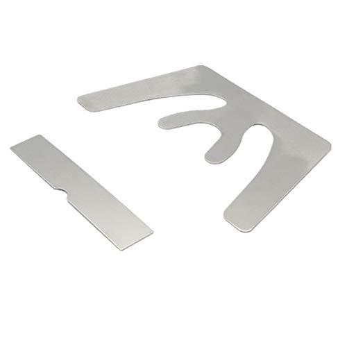 Dental Occlusal Maxillary Casting Jaw Fox Plane Plate Autoclavable Denture Instruments
