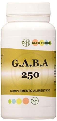 Alfa Herbal Gaba 250Mg 120 Capsulas - 1 Unidad