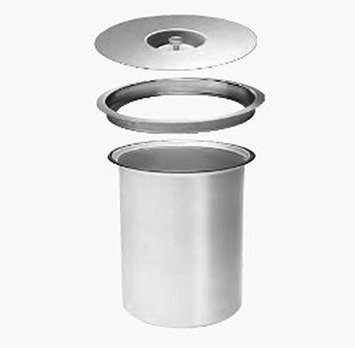 Wesco Ergomaster 5 L Aluminium Einbau in Arbeitsplatte Bio Mülleimer * 514663