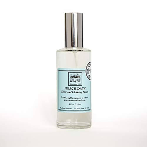 The Good Home Co. Sheet and Clothing Spray, Beach Days, 4 ounce by The Good Home Co.