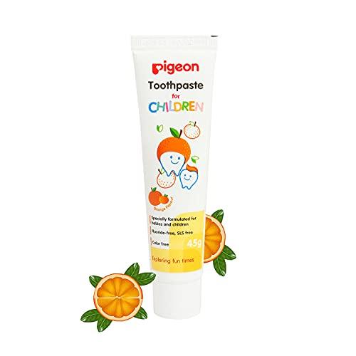 Pigeon Children Toothpaste - Orange (45g)