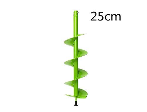 EsportsMJJ 15cm 25cm Auger Boor Elektrische Post Gat Digger voor Bodem Ice Fence Decks 25cm