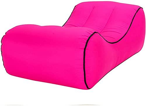 Sofás hinchables para Sofá inflable, tumbona inflable rápida portátil con el bolso de transporte, sofá tumbonor inflable, sofá impermeable y anti fugas del sofá inflable para acampar, picnics, activid