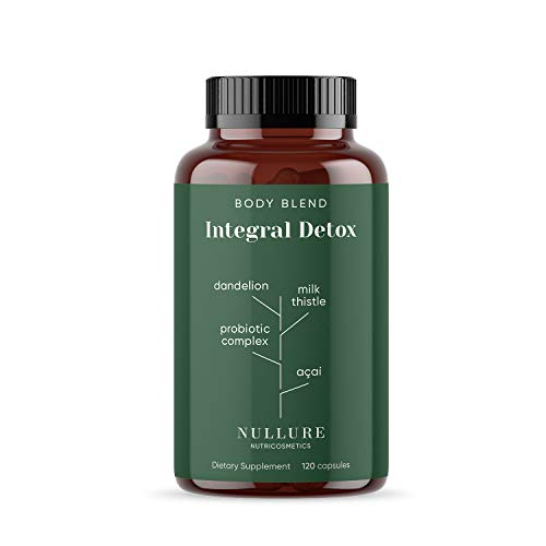 Body Detox Natural Nullure | Limpiar el Hígado y Mejorar el Microbioma...