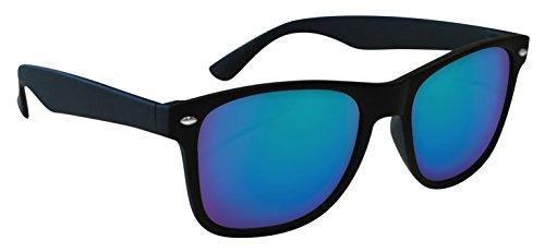 Eagle Wave zonnebril Wayfarer, 52, zwart