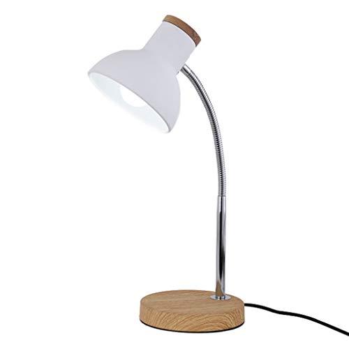 Lampe de table lampe de salon lampe de table macarons lampe de table, personnalité créatrice lampe de table (Couleur : Blanc)