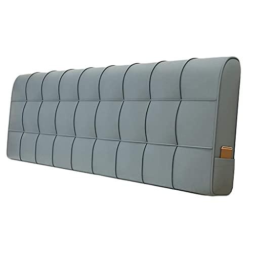 Almohadas de lectura Cabecero azul de la almohada de la almohada Cojín respaldado para la cama de la cama de la cabina de la cabina de la cabina de la cama de la cama de la cama doble de la almohada d