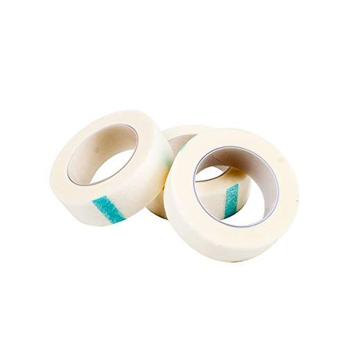 Mazufr Extension de Cils 5 Rouleaux d'isolement sous Le Ruban de Protection pour Les Yeux pour Faux adhésifs pour Cils Lady Women Cosmétiques Papier à paupières (Couleur: Blanc)