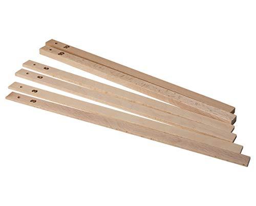Birkmann 340558 Ausroll-Hölzer, Easy Baking, 35 cm; 3 Paar