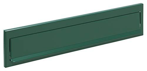 Arregui C617 Bocacartas de Acero, 342 x 73 mm, Verde