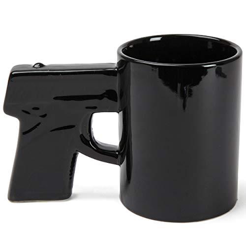 BigMouth Inc Schwarzen Pistole Becher