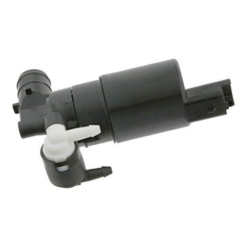 febi bilstein 24453 Waschwasserpumpe / Wischwasserpumpe für Scheibenreinigungsanlage, 12 Volt, 1 Stück