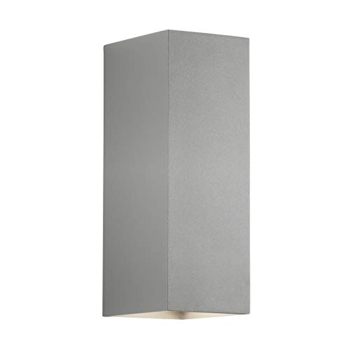 Astro Lighting Oslo 255 1298023 - Lámpara de pared (1 bombilla LED de 7,9 W, 3000 K, 365 lm, IP65)