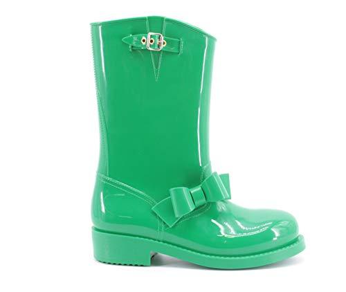 Red Valentino Damen Schuhe Gummistiefel, Größe:41, Farbe:Grün