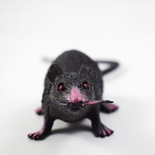 ENticerowts Halloween-Spielzeug, 22 cm, PVC-Imitation, Mäuse-Modell, Kinder-Spielzeug, Halloween, kniffliges Spielzeug, Party, knifflige Streich-Requisiten, realistisch