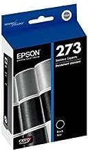 2 X Genuine Epson 273 (T273020) Black Ink Cartridge for Epson Expression XP-600/800 and Epson Expression Premium XP-610/810 Printers