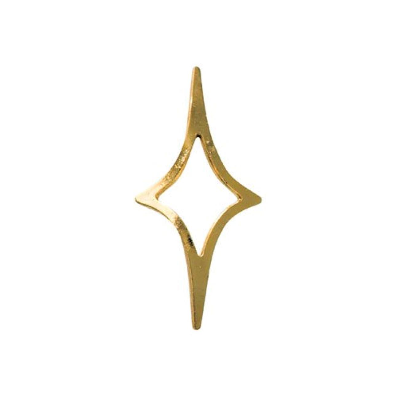 硫黄祈るハウスリトルプリティー ネイルアートパーツ キラキラ2 3S ゴールド 20個